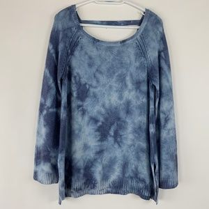 American Eagle Outfitters Tie Dye Sweater Medium